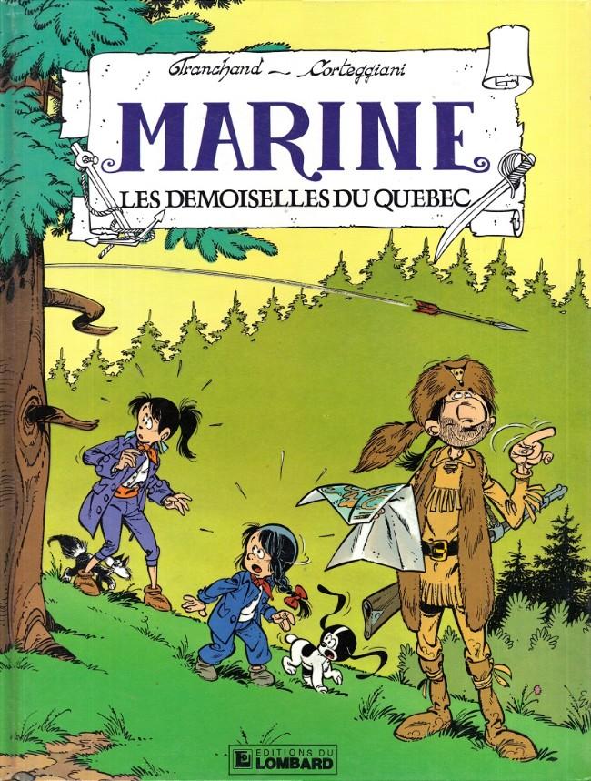 Couverture de Marine (Corteggiani/Tranchand) -9- Les demoiselles du Québec