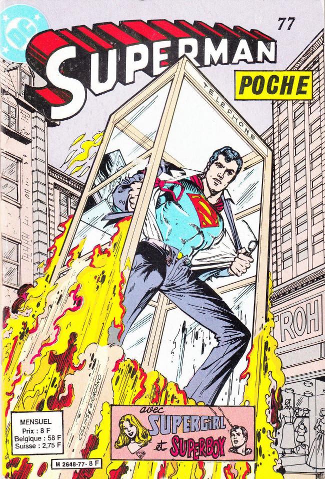Couverture de Superman (Poche) (Sagédition) -77- Ou toi ou la planète : l'un des deux doit périr !