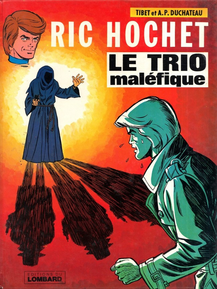 Couverture de Ric Hochet -21- Le trio maléfique