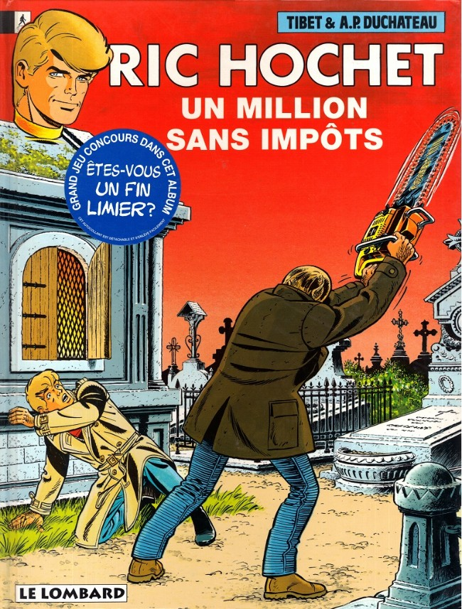 Couverture de Ric Hochet -56- Un million sans impôts