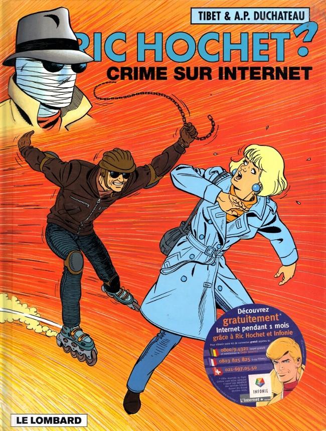Couverture de Ric Hochet -60- Crime sur internet
