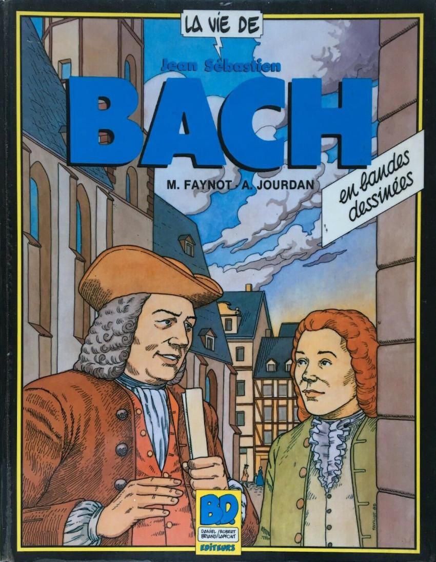 Couverture de La vie de... -3- Jean-Sébastien Bach