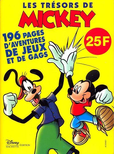 Couverture de Les trésors de Mickey -1- Numéro 1