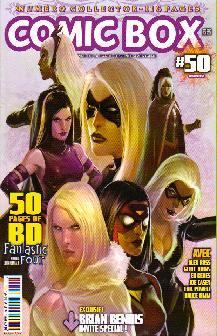 Couverture de Comic Box (1re série) -501- Comic Box 50