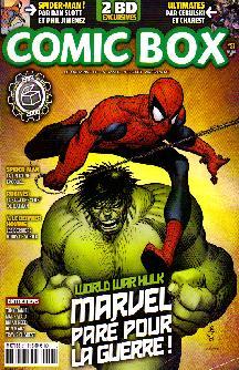 Couverture de Comic Box (1re série) -51- Comic Box 51