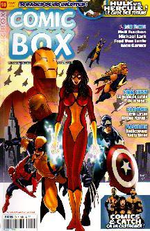 Couverture de Comic Box (1re série) -59- Comic Box 59