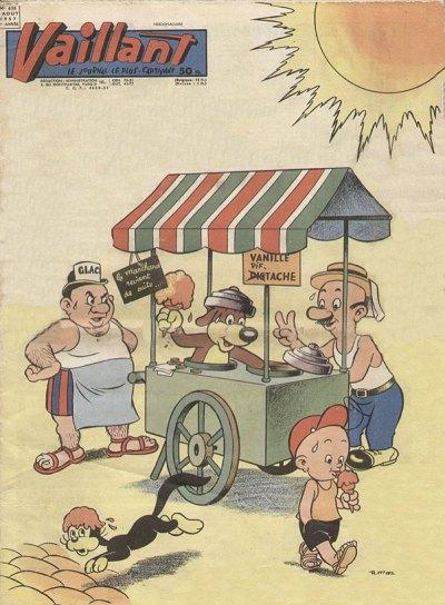 Couverture de Vaillant (le journal le plus captivant) -638- Vaillant