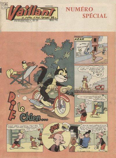 Couverture de Vaillant (le journal le plus captivant) -640- Vaillant