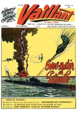 Couverture de Vaillant (le journal le plus captivant) -52- Vaillant