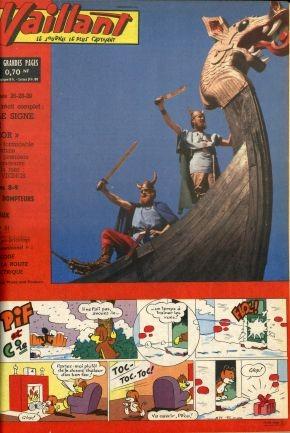 Couverture de Vaillant (le journal le plus captivant) -871- Vaillant