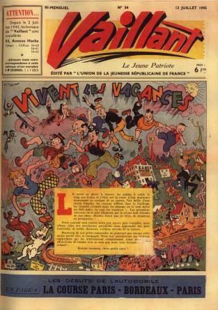 Couverture de Vaillant (le journal le plus captivant) -34- Vaillant