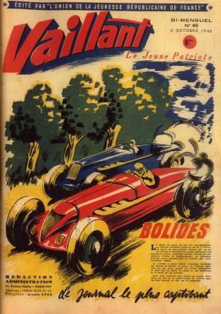 Couverture de Vaillant (le journal le plus captivant) -40- Vaillant Le Jeune Patriote