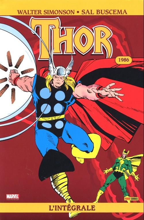 Couverture de Thor (L'intégrale) -3- Intégrale 1986