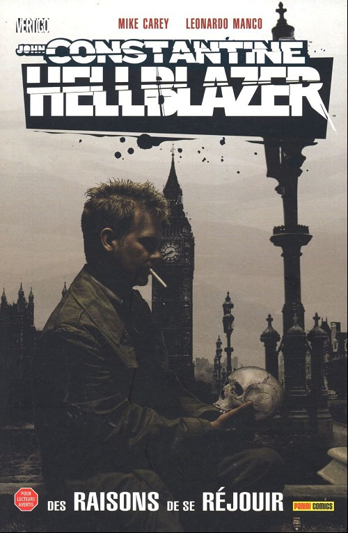 Couverture de Hellblazer (100% Vertigo) -6- John Constantine, Hellblazer - Des raisons de se réjouir