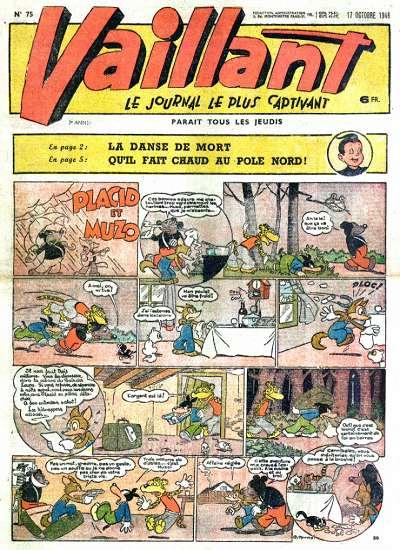 Couverture de Vaillant (le journal le plus captivant) -75- Vaillant