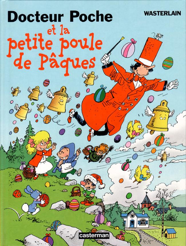 Couverture de Docteur Poche -11- Docteur Poche et la petite poule de pâques
