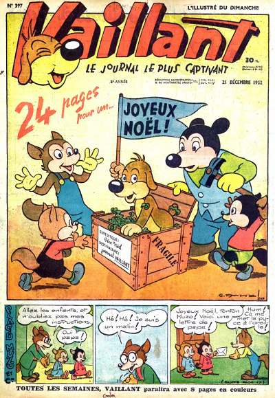 Couverture de Vaillant (le journal le plus captivant) -397- Vaillant