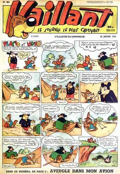 Couverture de Vaillant (le journal le plus captivant) -402- Vaillant