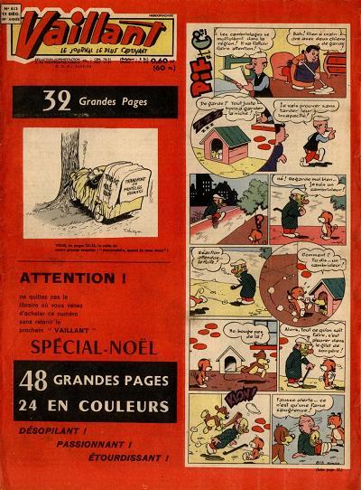 Couverture de Vaillant (le journal le plus captivant) -813- Vaillant