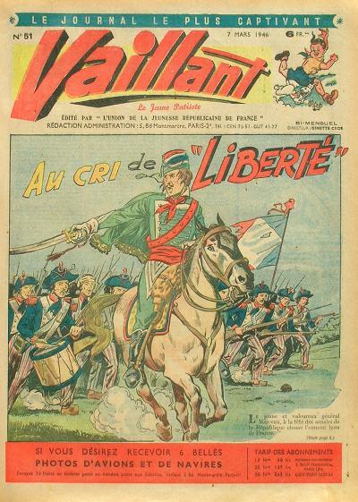 Couverture de Vaillant (le journal le plus captivant) -51- Vaillant