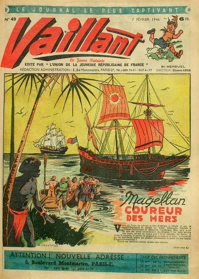 Couverture de Vaillant (le journal le plus captivant) -49- Vaillant