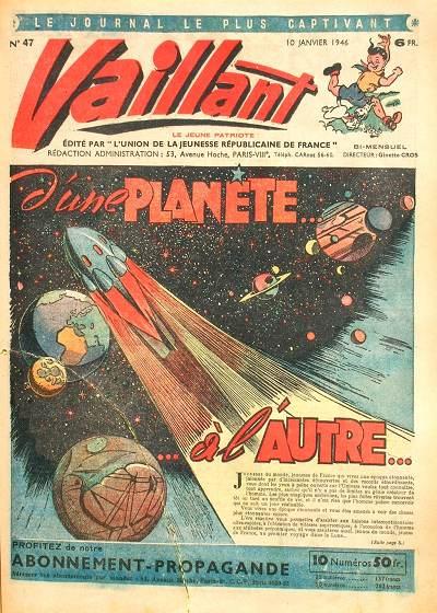 Couverture de Vaillant (le journal le plus captivant) -47- Vaillant