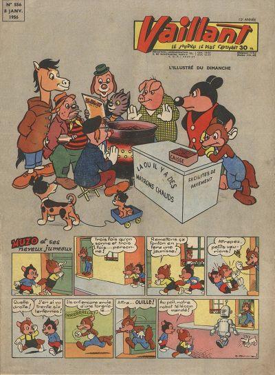 Couverture de Vaillant (le journal le plus captivant) -556- Vaillant