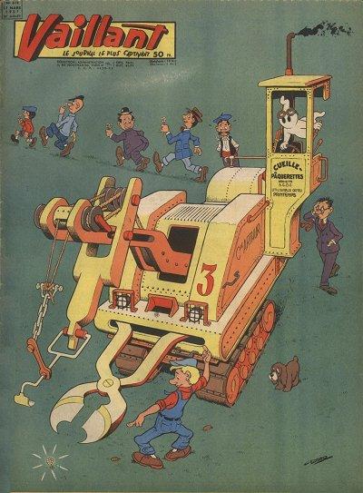 Couverture de Vaillant (le journal le plus captivant) -618- Vaillant