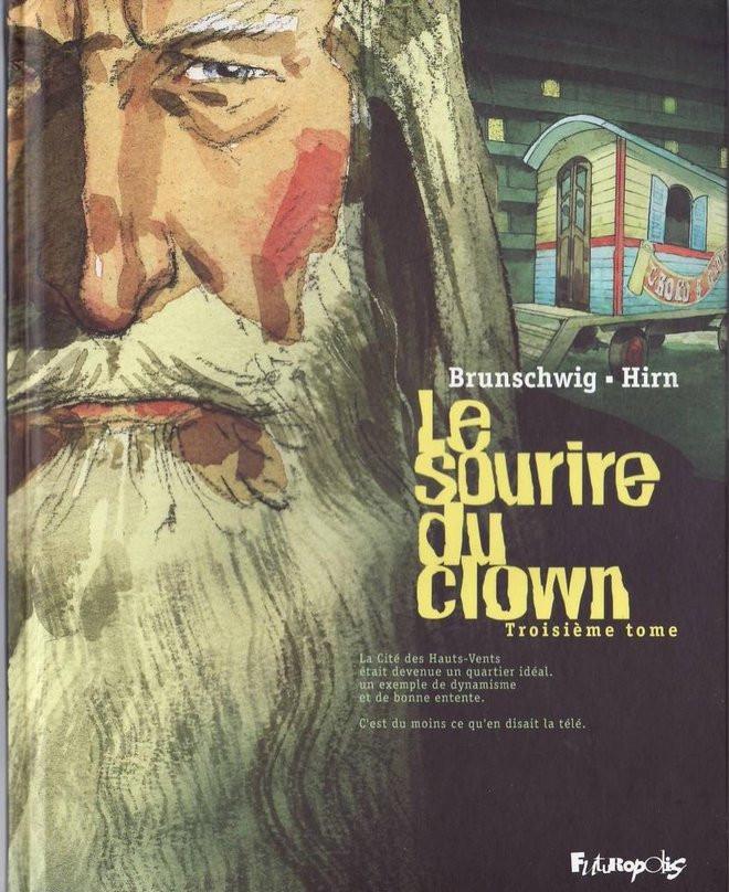 Couverture de Le sourire du clown -3- Troisième tome