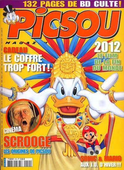 Couverture de Picsou Magazine -454- Picsou Magazine N°454