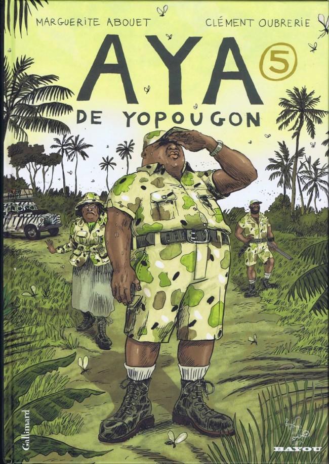 Couverture de Aya de Yopougon -5- Volume 5
