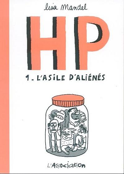 Couverture de HP (Mandel) -1- L'asile d'aliénés