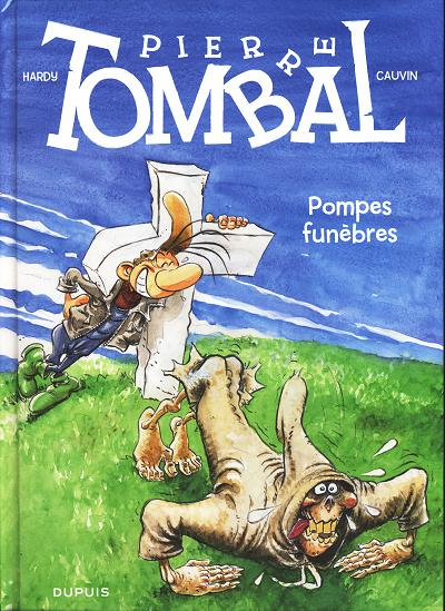 Couverture de Pierre Tombal -26- Pompes funèbres