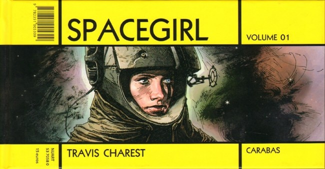 Couverture de Spacegirl -1- Volume 01