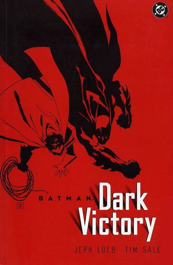 Couverture de Batman: Dark Victory (1999) -INT- Dark Victory