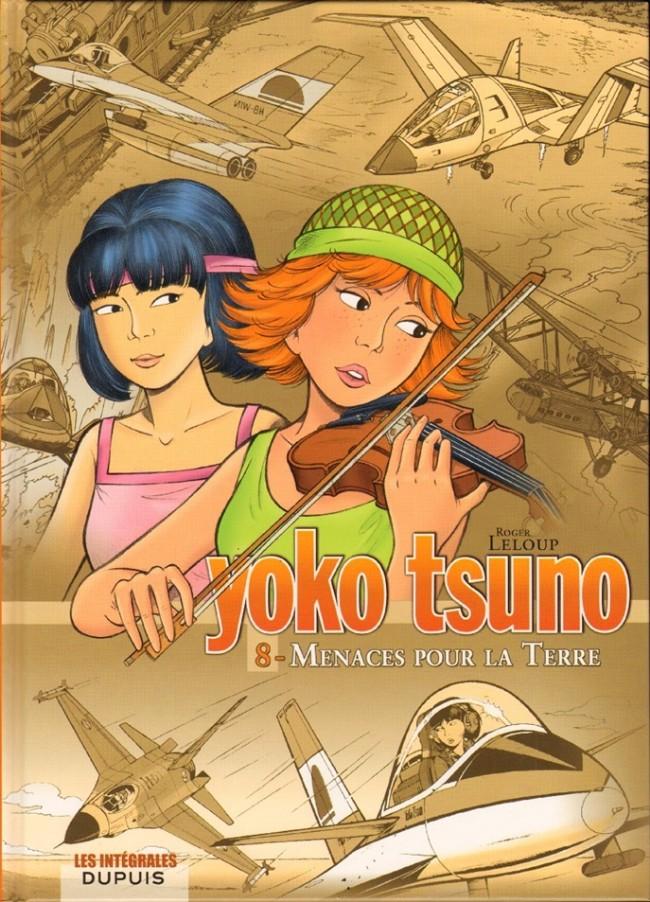 Couverture de Yoko Tsuno (Intégrale) -8- Menaces pour la terre