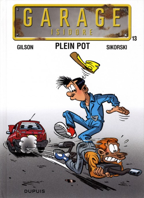 Couverture de Garage Isidore -13- Plein pot