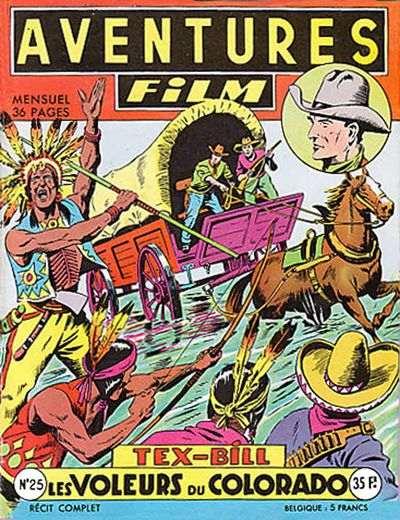 ARTIMA Le voleur de ranches AVENTURES-FILM n° 23 1954