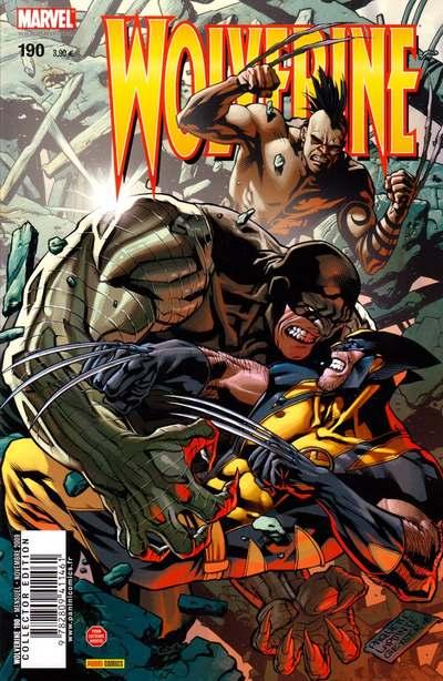 Couverture de Wolverine (Marvel France 1re série) (1997) -190- Affaire de famille