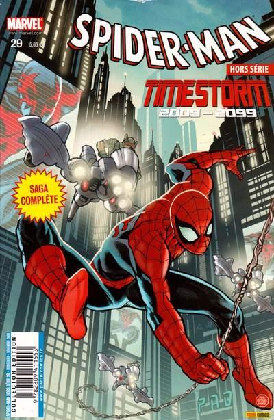 Couverture de Spider-Man Hors Série (Marvel France puis Panini Comics, 1re série) -29- Timestorm 2009-2099