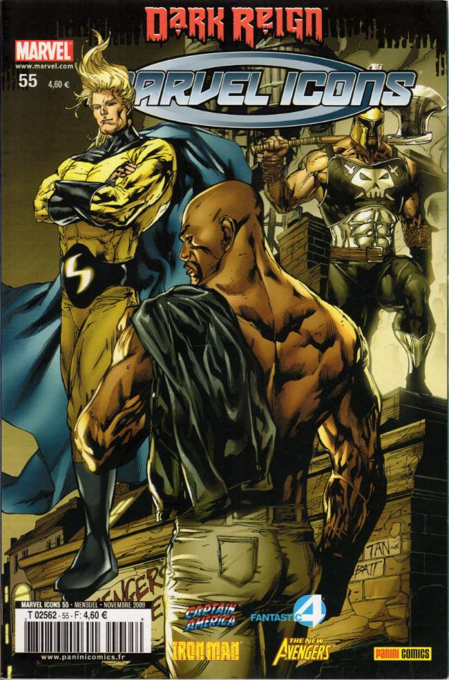 Couverture de Marvel Icons (Marvel France - 2005) -55- Sans compromis
