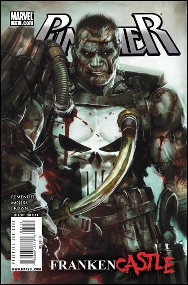 Couverture de Punisher Vol.08 (Marvel comics - 2009) (The) -11- Frankencastle part 1