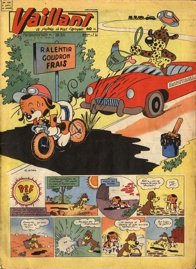 Couverture de Vaillant (le journal le plus captivant) -738- Vaillant