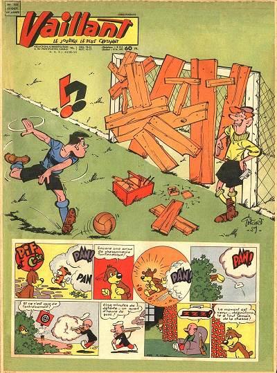 Couverture de Vaillant (le journal le plus captivant) -752- Vaillant