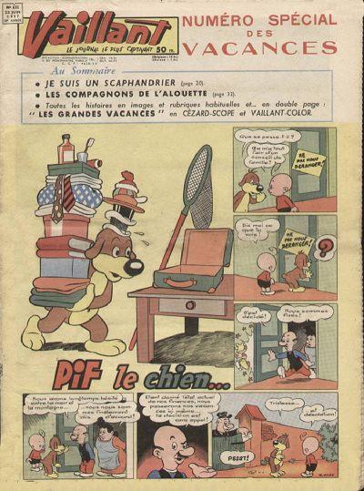 Couverture de Vaillant (le journal le plus captivant) -632- Vaillant