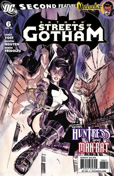 Couverture de Batman: Streets of Gotham (2009) -6- Leviathan part 2