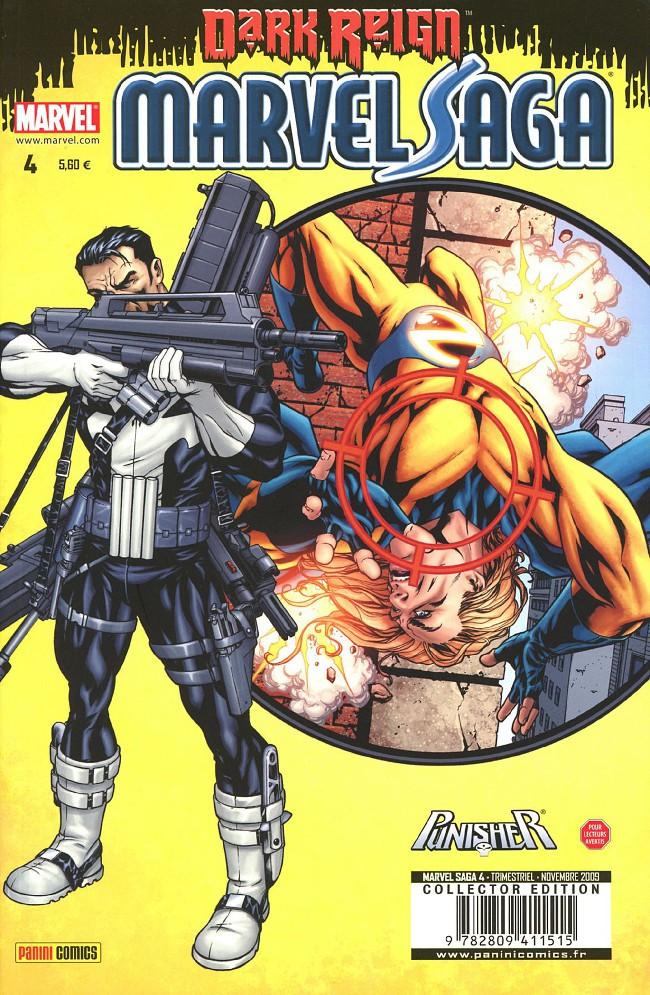 Couverture de Marvel Saga (1re série - 2009) -4- Au cœur des ténèbres