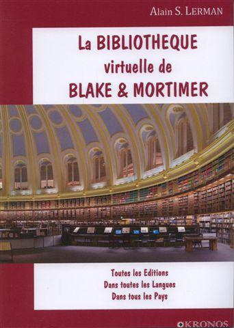 Couverture de Blake et Mortimer (Divers) -16- La Bibliothèque virtuelle de Blake & Mortimer