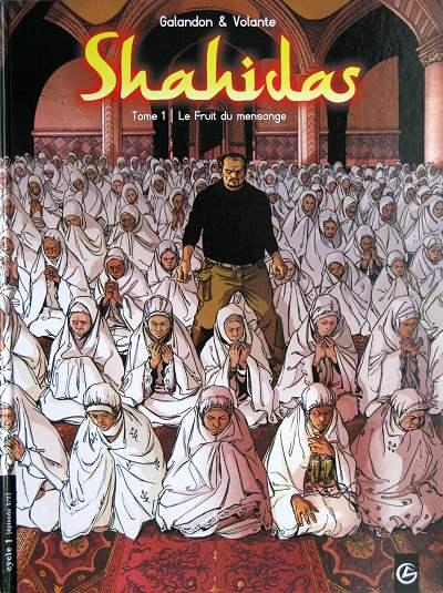 Couverture de Shahidas -1- Le fruit du mensonge