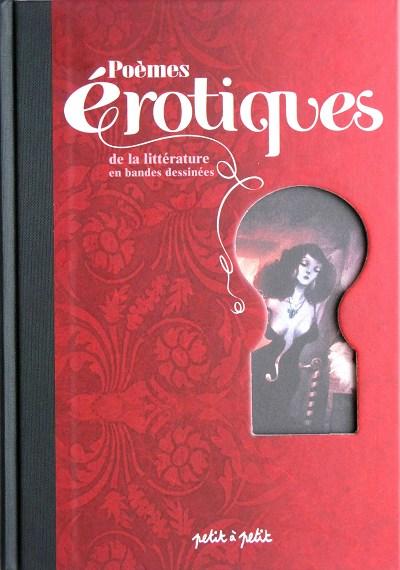 Couverture de Poèmes érotiques - Poèmes érotiques de la littérature en bandes dessinées